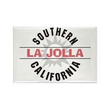 La Jolla Califronia Rectangle Magnet (10 pack)
