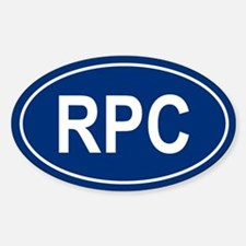 RPC Oval Decal