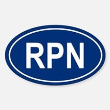 RPN Oval Decal