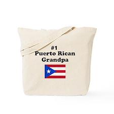 #1 Puerto Rican Grandpa Tote Bag