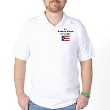 #1 Puerto Rican Grandpa T-Shirt