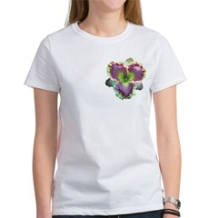 Lavender w/ Gold Daylily Tee
