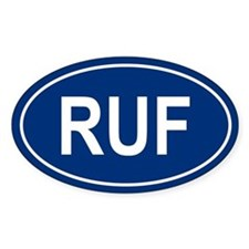 RUF Oval Decal