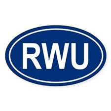 RWU Oval Decal