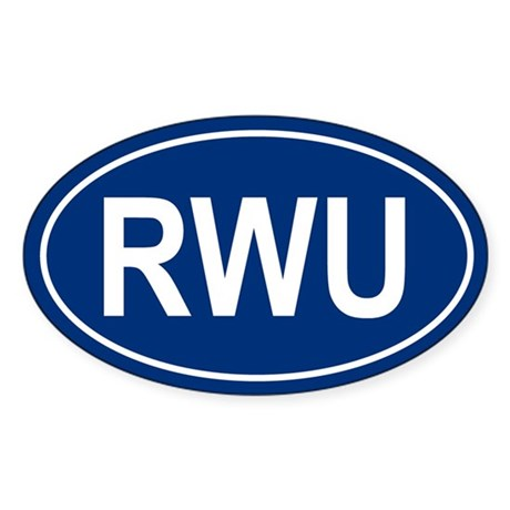 RWU Oval Sticker