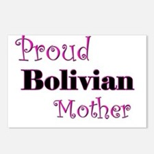 Proud Bolivian Mother Postcards (Package of 8)