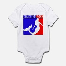 Mermaids Rock! Infant Bodysuit