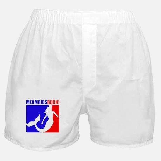 Mermaids Rock! Boxer Shorts