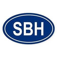 SBH Oval Decal