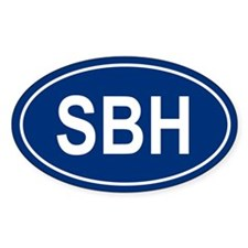 SBH Oval Decal