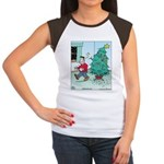 Water Me Christmas Tree Women's Cap Sleeve T-Shirt