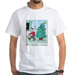 Water Me Christmas Tree White T-Shirt