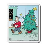 Water Me Christmas Tree Mousepad