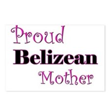 Proud Belizean Mother Postcards (Package of 8)