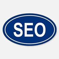 SEO Oval Decal