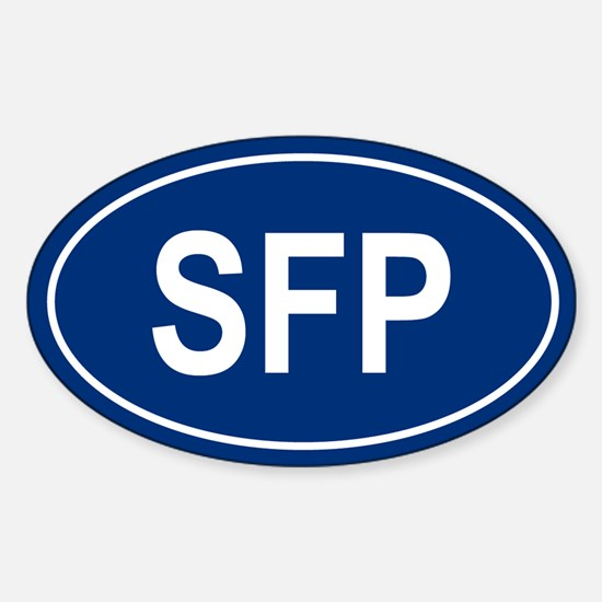 SFP Oval Decal