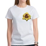 Peach Double Daylily Women's T-Shirt