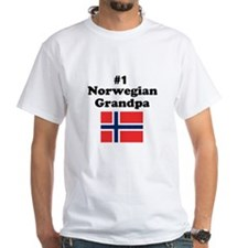 #1 Norwegian Grandpa Shirt