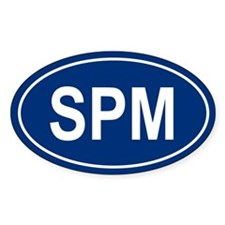 SPM Oval Decal