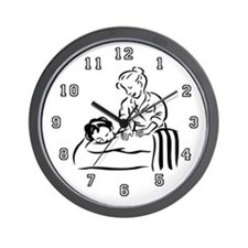 Massage Therapist Wall Clock