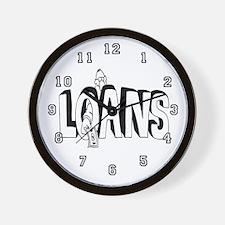 Loan Officer Wall Clock