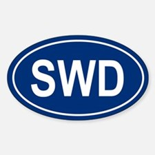 SWD Oval Decal