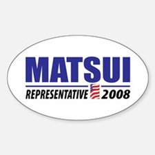 Matsui 2008 Oval Decal