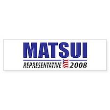 Matsui 2008 Bumper Bumper Sticker
