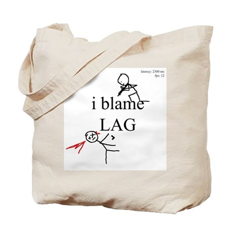 i blame LAG Tote Bag