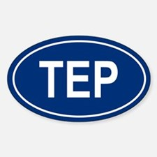 TEP Oval Decal