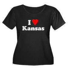 I Love Kansas T