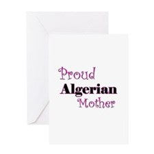 Proud Algerian Mother Greeting Card
