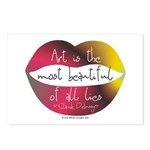 Art, a Beautiful Lie Postcards (Package of 8)
