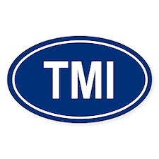 TMI Oval Decal