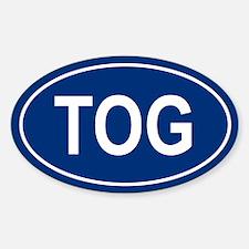 TOG Oval Decal