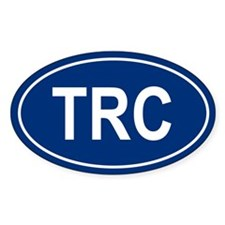 TRC Oval Decal