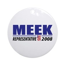 Meek 2008 Ornament (Round)