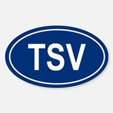TSV Oval Decal