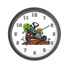 Farmer Tractor Wall Clock