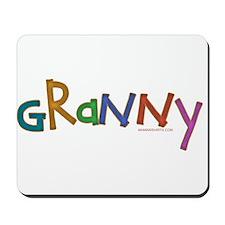 CLICK 4 wheelin granny Mousepad