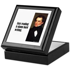 "Hawthorne ""Easy Reading"" Keepsake Box"