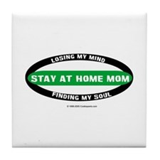 Stay at Home Mom  Tile Coaster