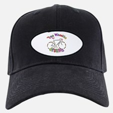 CLICK 2 wheelin granny Baseball Hat