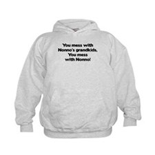 Don't Mess with Nonno's Grandkids! Hoodie