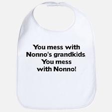 Don't Mess with Nonno's Grandkids! Bib