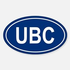 UBC Oval Decal