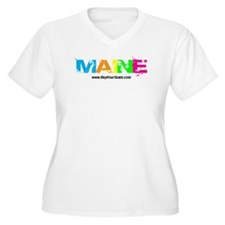 Colorful Maine T-Shirt