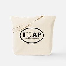 We Love AP Tote Bag
