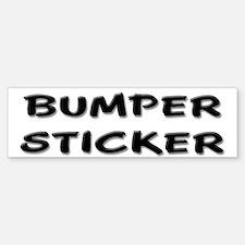 """""""Obvious"""" Bumper Bumper Bumper Sticker"""
