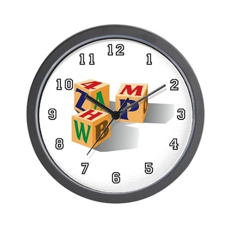 Childcare or Daycare Teacher Wall Clock